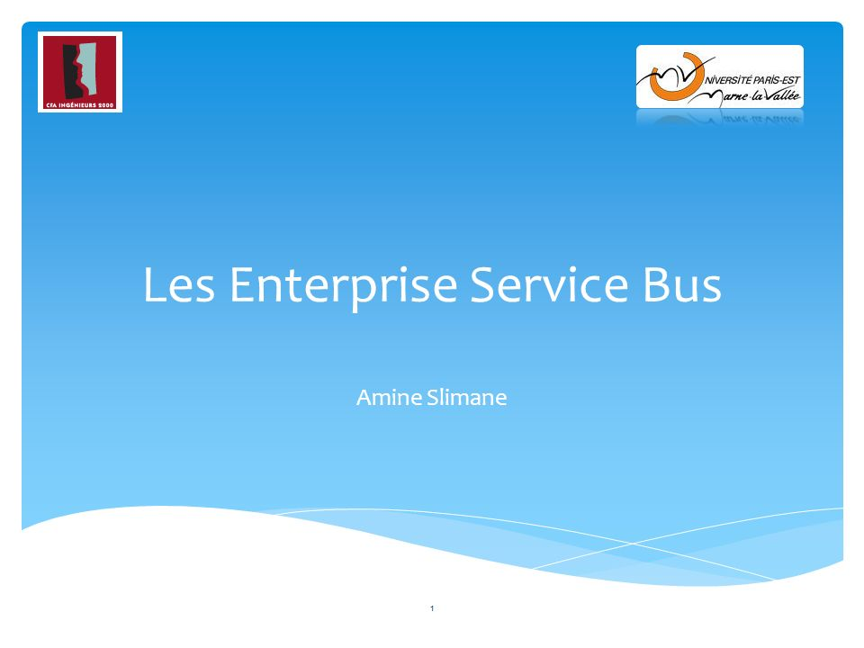 Les Enterprise Service Bus