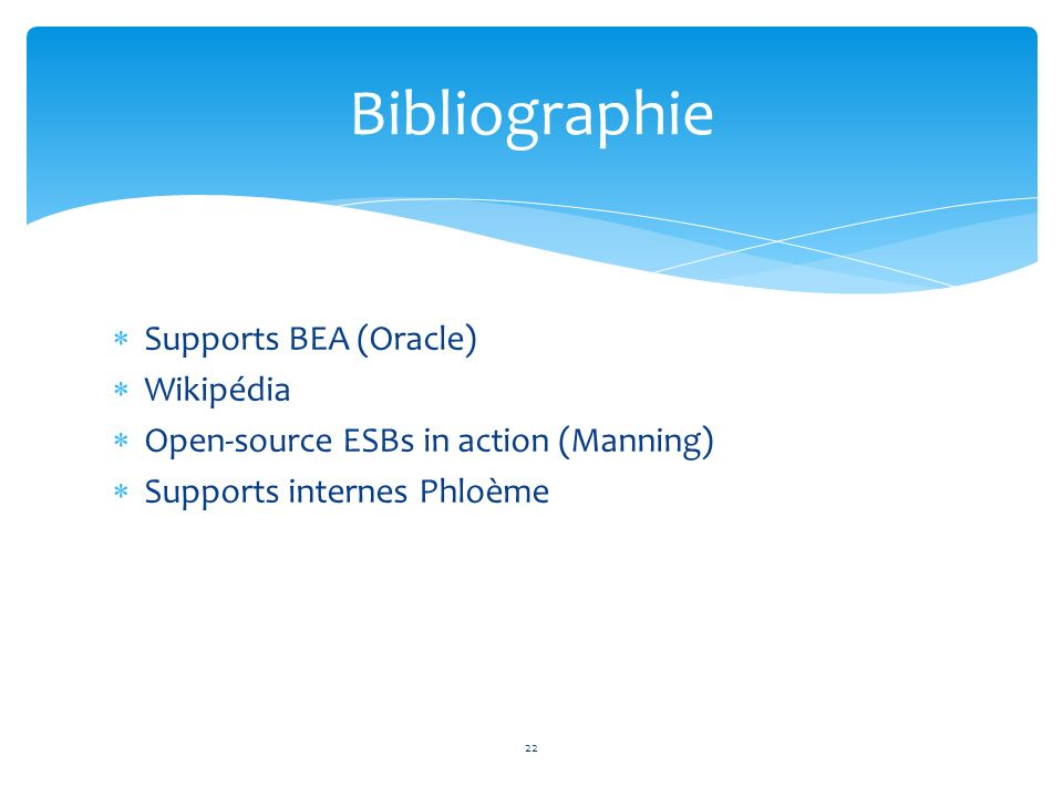 Bibliographie Supports BEA (Oracle) Wikipédia