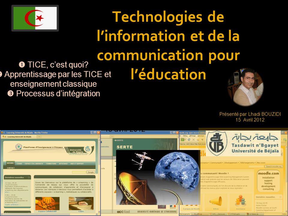 Technologies de l'information et de la communication pour l'éducation