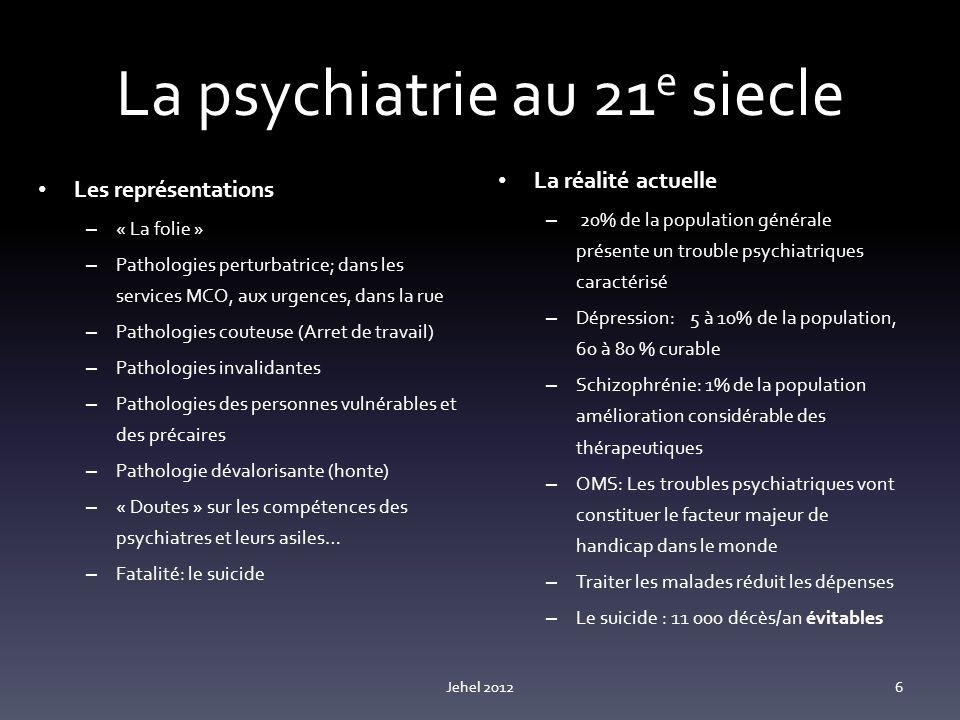 La psychiatrie au 21e siecle