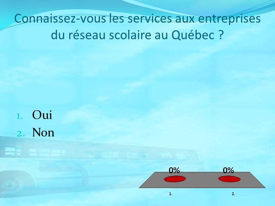 Connaissez-vous les services aux entreprises du réseau scolaire au Québec