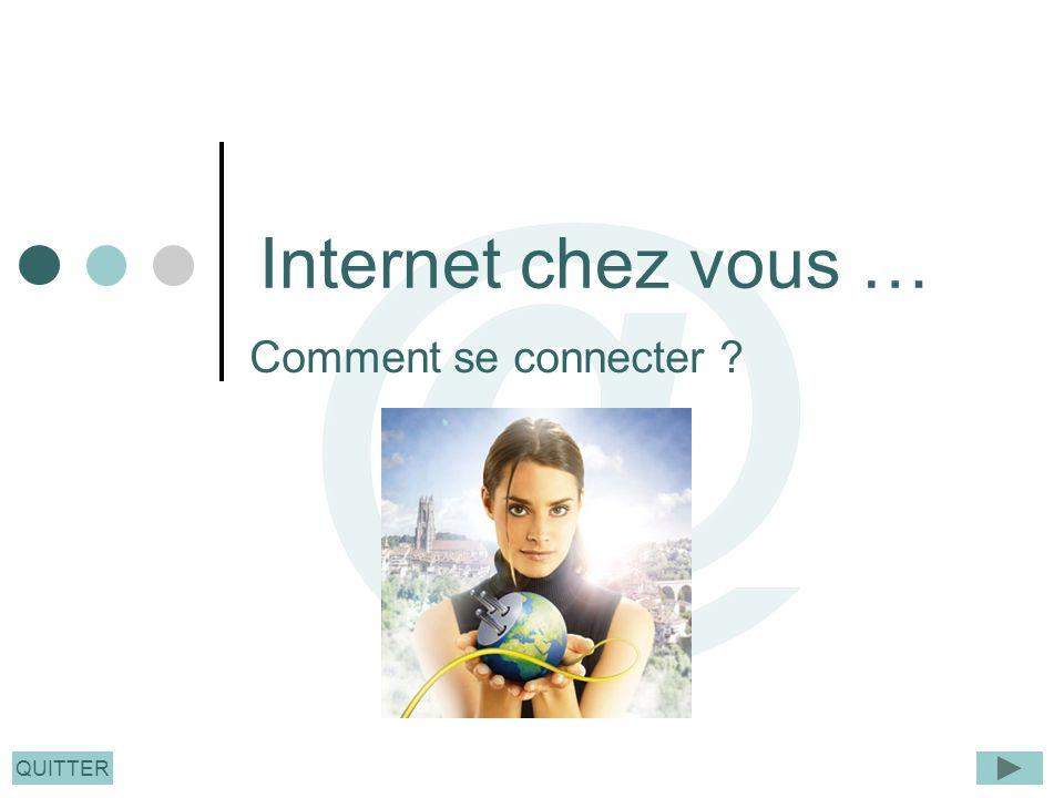 Internet chez vous … Comment se connecter