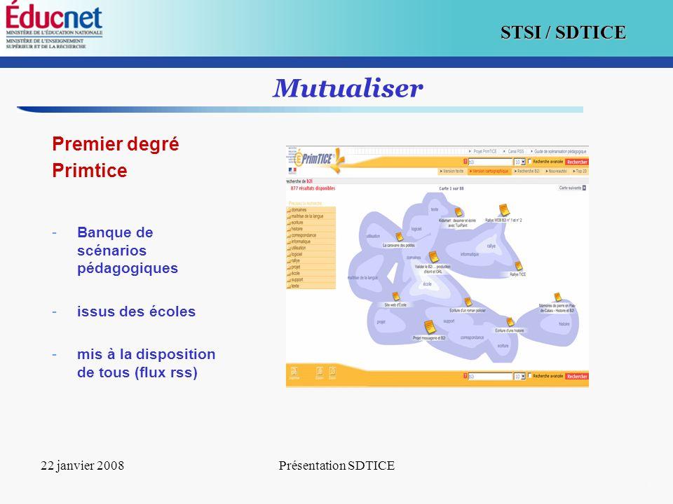 Mutualiser Premier degré Primtice Banque de scénarios pédagogiques