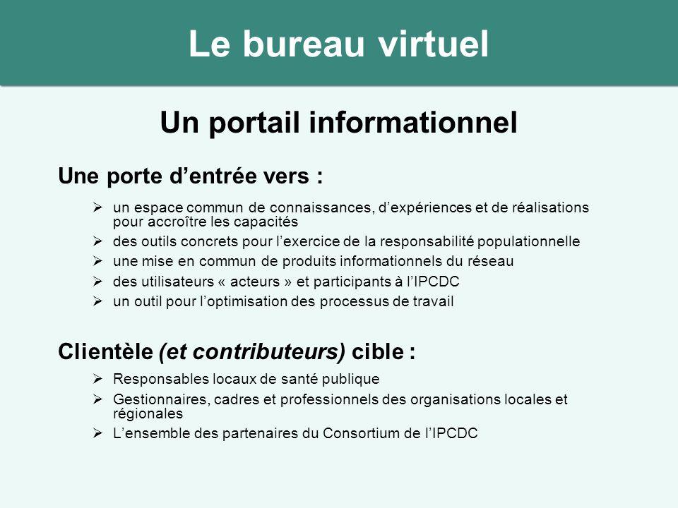 Un portail informationnel