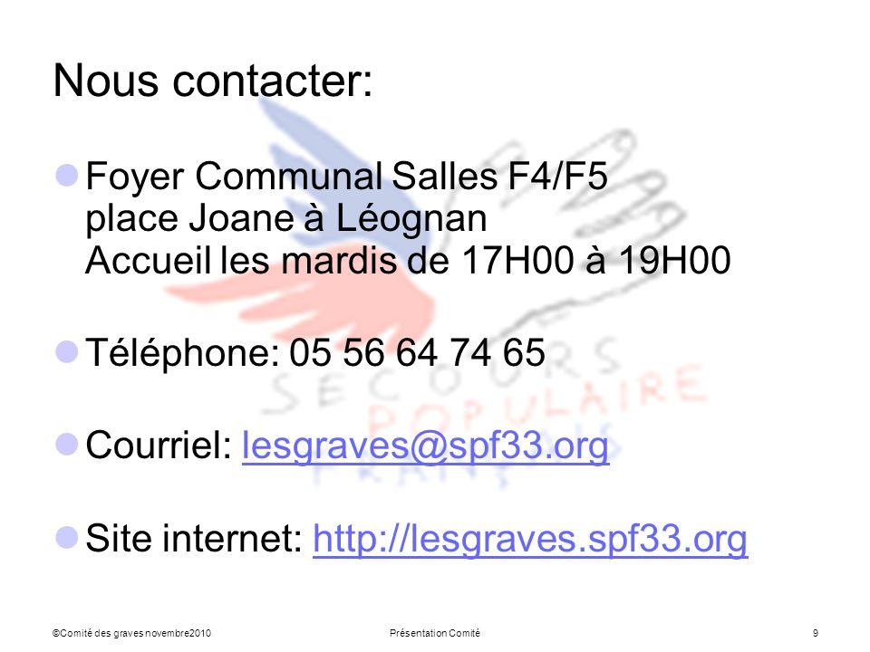 Nous contacter: Foyer Communal Salles F4/F5 place Joane à Léognan Accueil les mardis de 17H00 à 19H00.