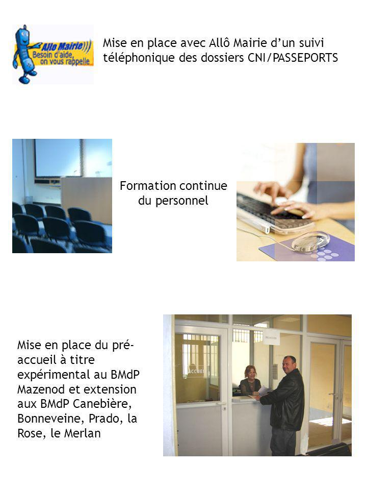 Formation continue du personnel