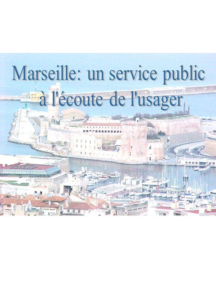 Marseille: un service public