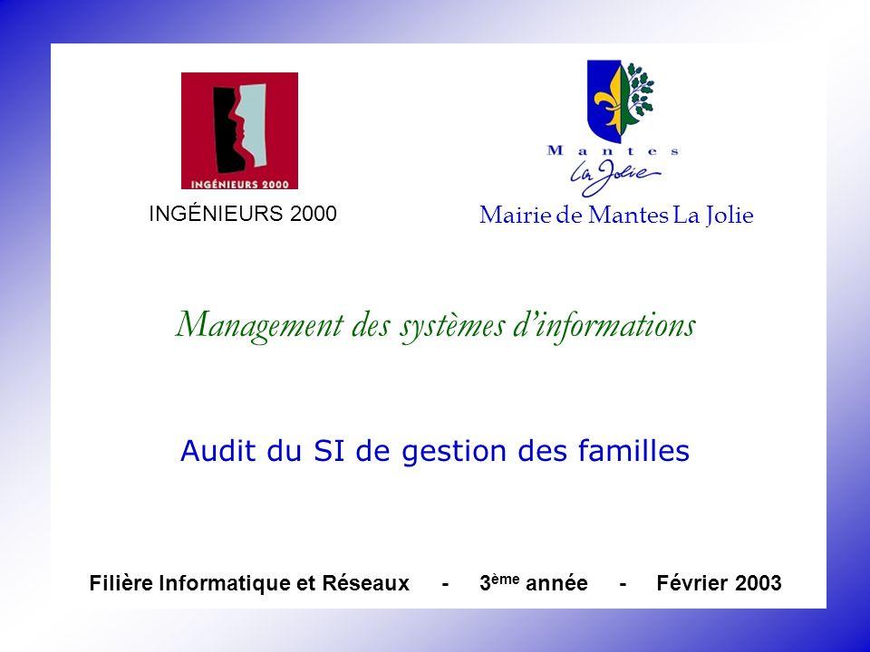 Management des systèmes d'informations