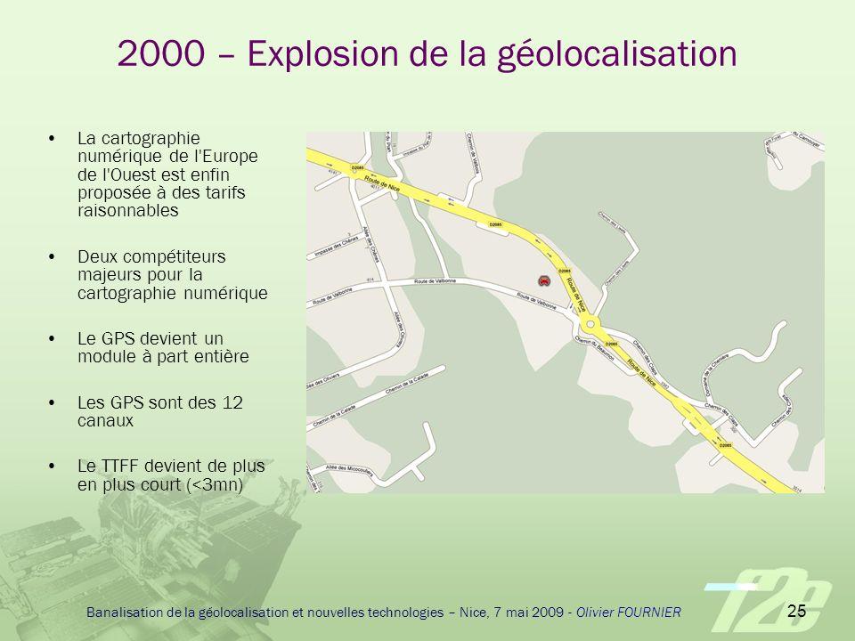 2000 – Explosion de la géolocalisation