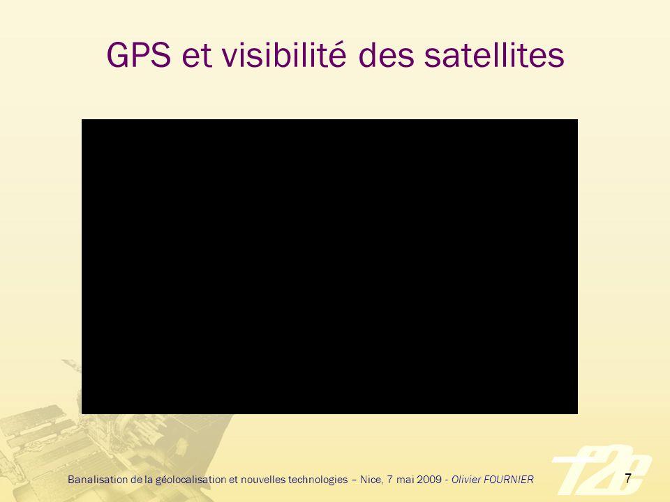 GPS et visibilité des satellites