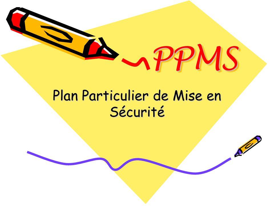 Plan Particulier de Mise en Sécurité
