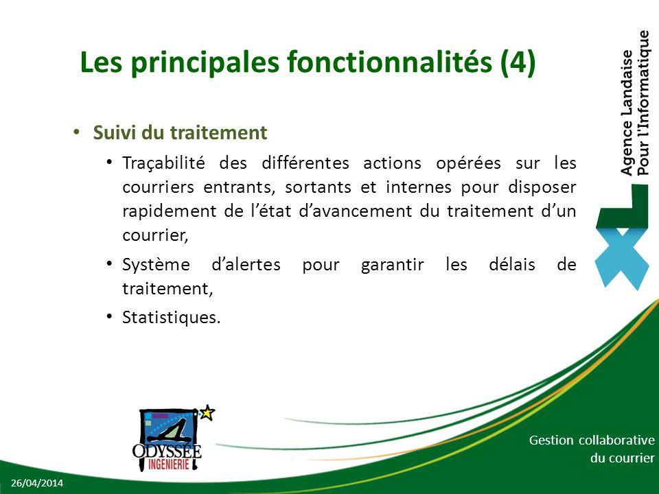 Les principales fonctionnalités (4)