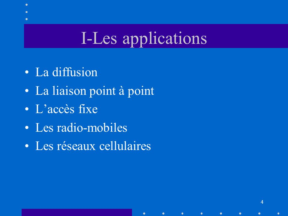 Introduction Les communications hertziennes, ou radiocom. =