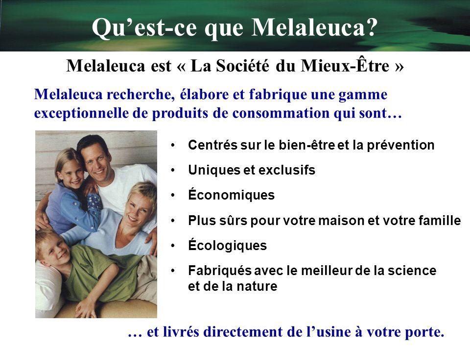 Qu'est-ce que Melaleuca