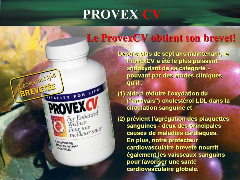 Le ProvexCV obtient son brevet!