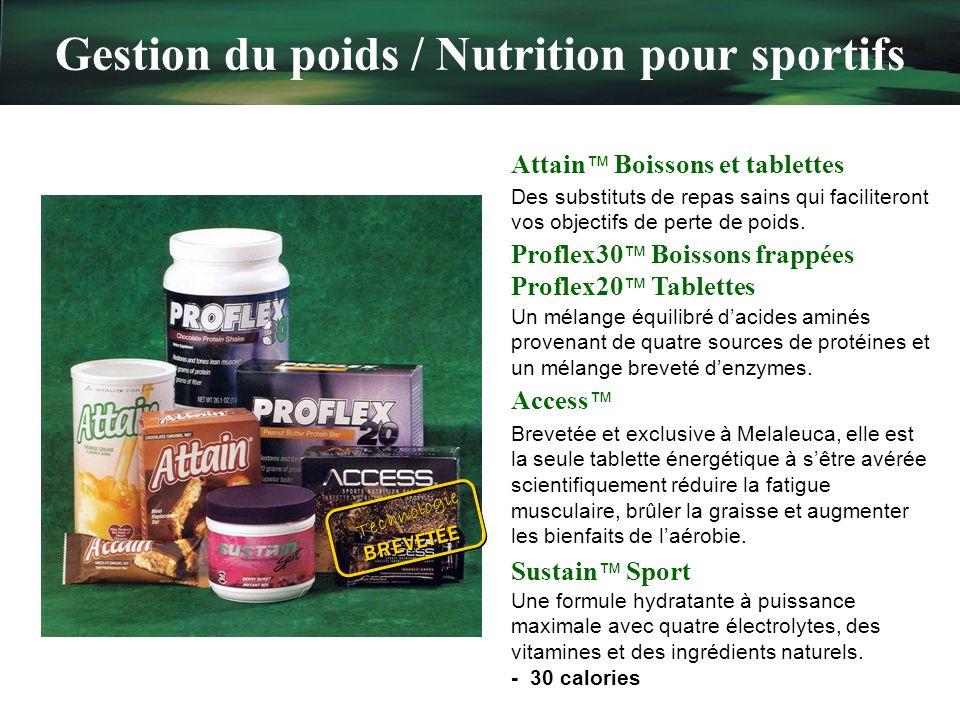Gestion du poids / Nutrition pour sportifs