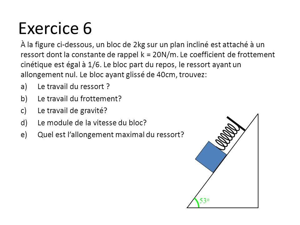 Exercice 6