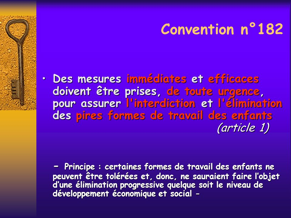 Convention n°182