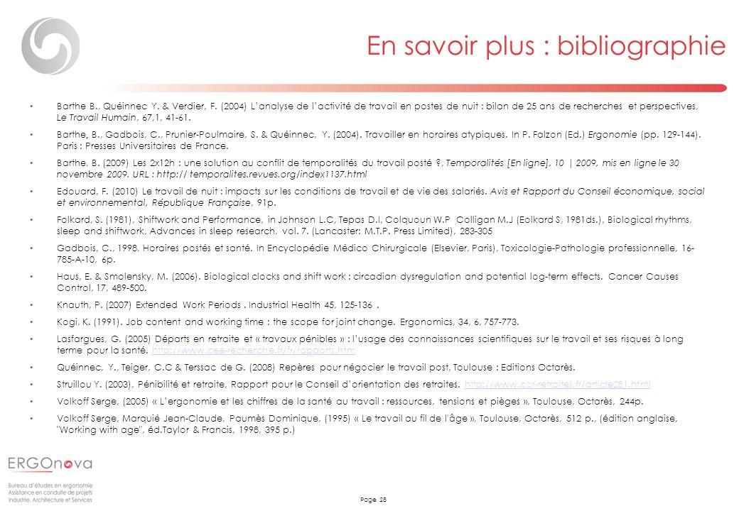 En savoir plus : bibliographie