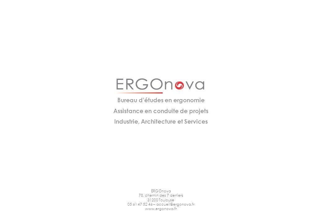 Bureau d'études en ergonomie Assistance en conduite de projets