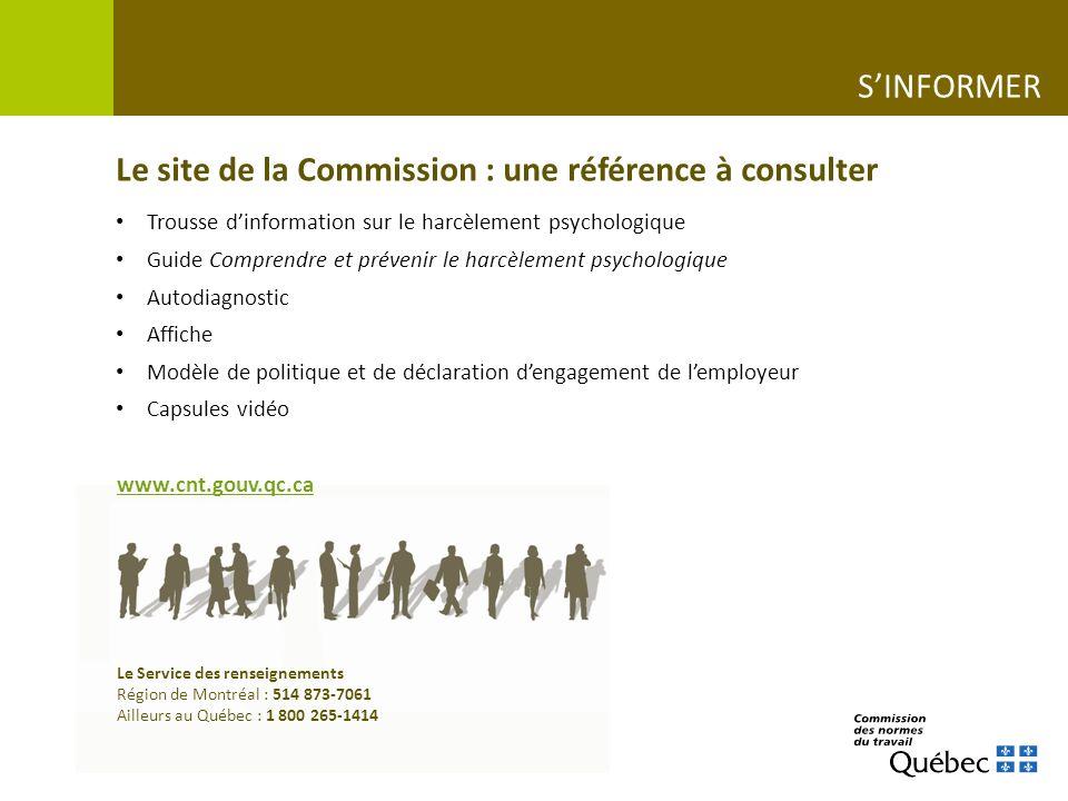 Le site de la Commission : une référence à consulter