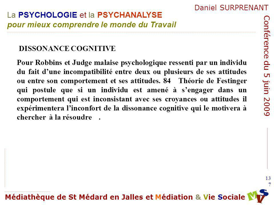 DISSONANCE COGNITIVE