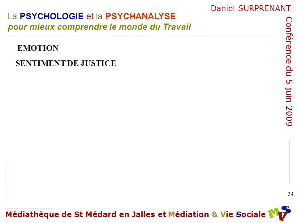 EMOTION SENTIMENT DE JUSTICE