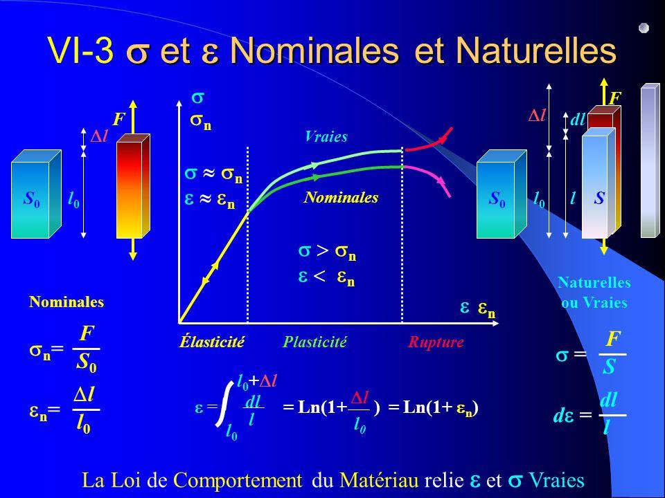 VI-3 s et e Nominales et Naturelles