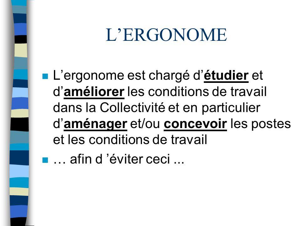 L'ERGONOME