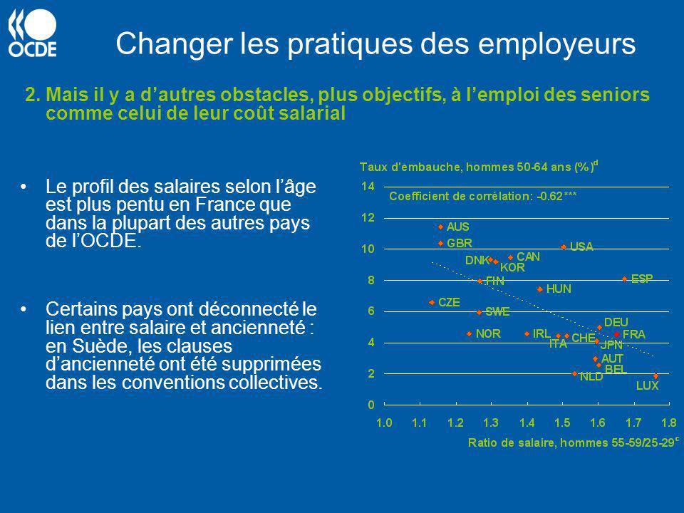 Changer les pratiques des employeurs