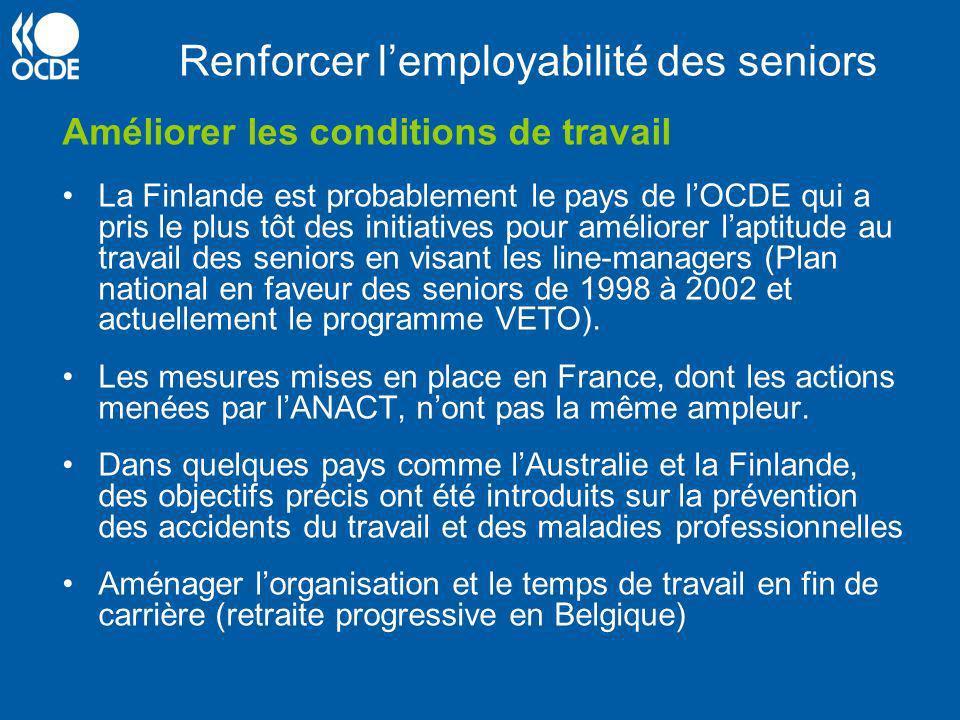 Renforcer l'employabilité des seniors