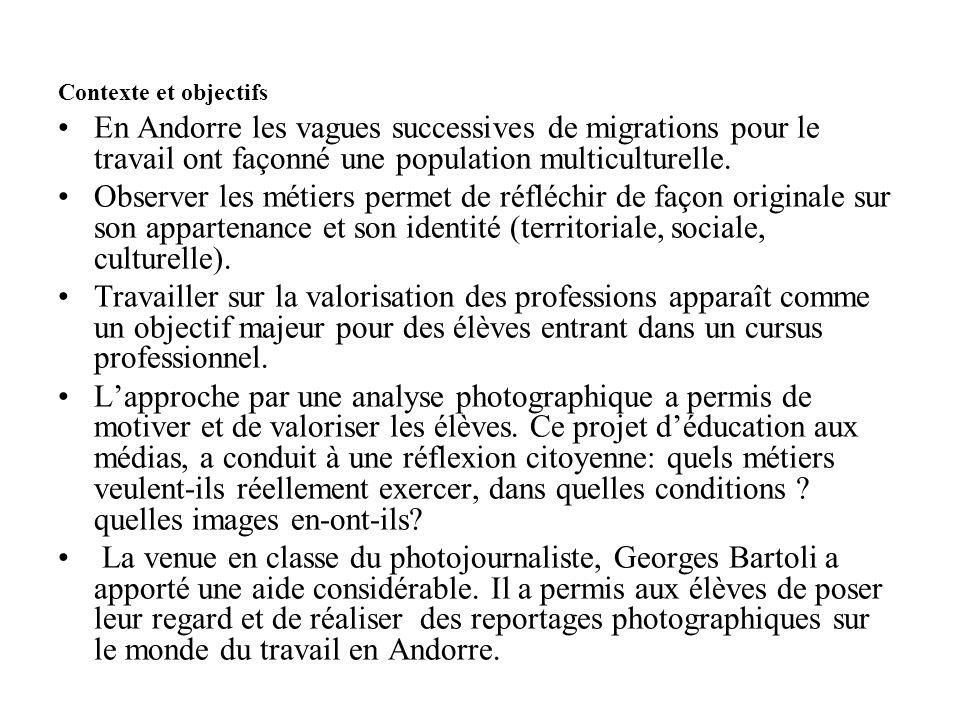 Contexte et objectifs En Andorre les vagues successives de migrations pour le travail ont façonné une population multiculturelle.