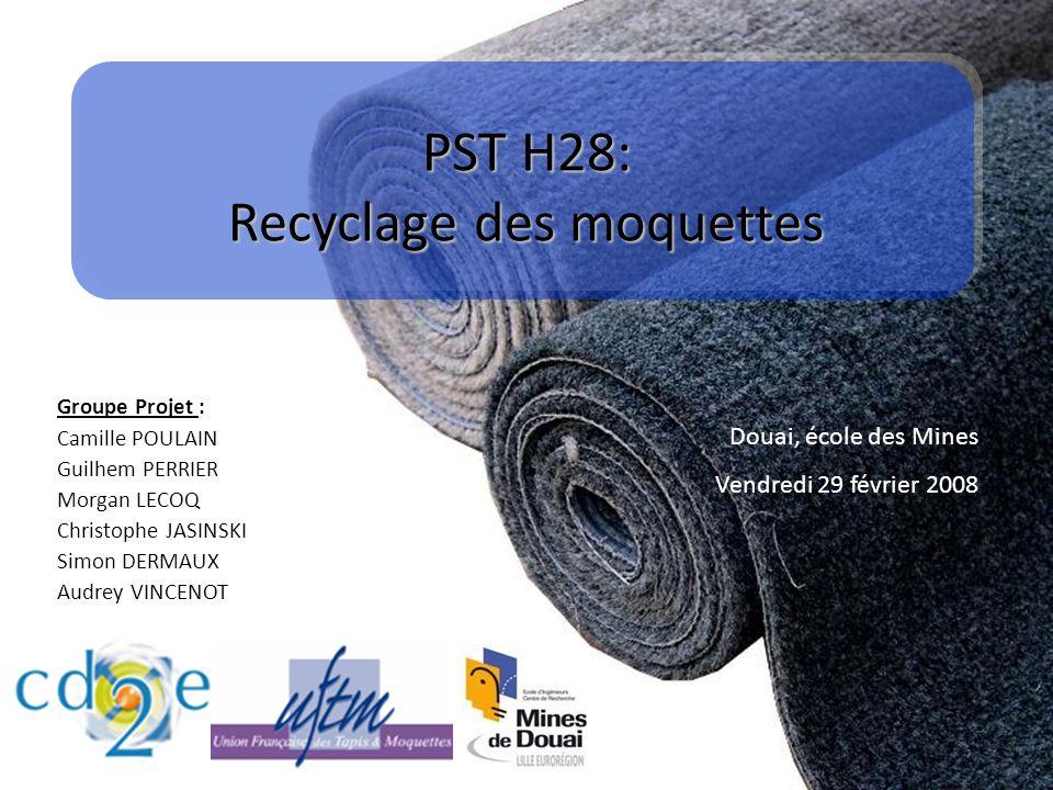 PST H28: Recyclage des moquettes