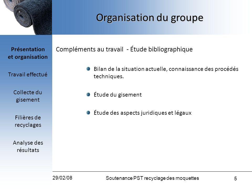 Présentation et organisation