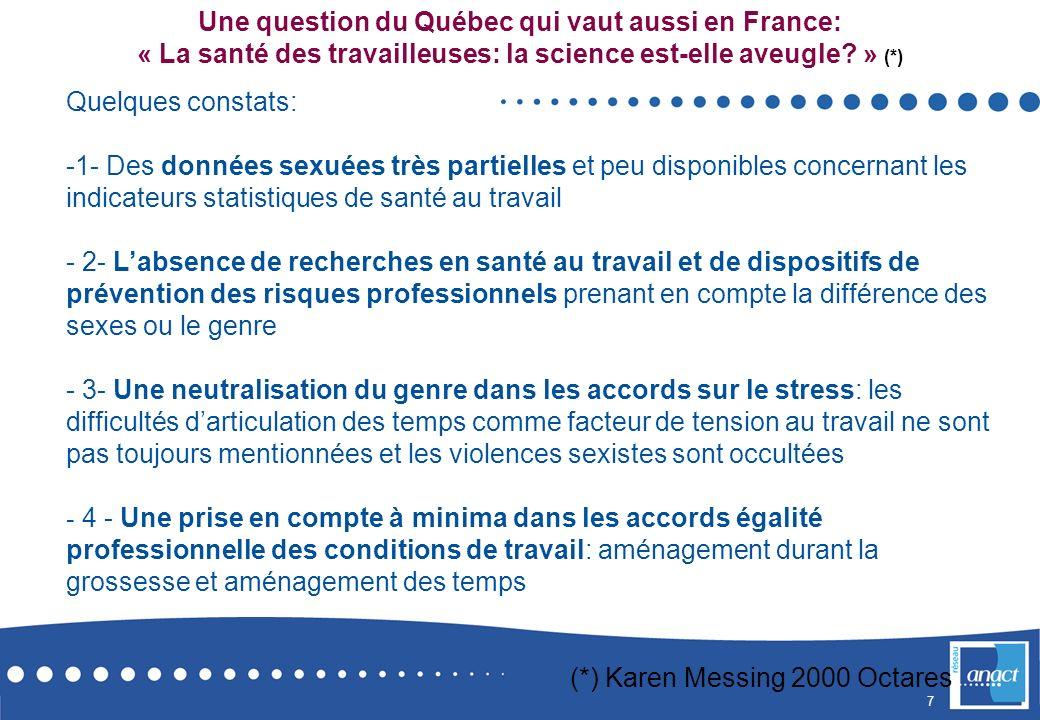 Une question du Québec qui vaut aussi en France: