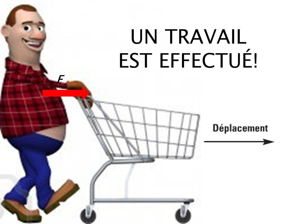 UN TRAVAIL EST EFFECTUÉ!