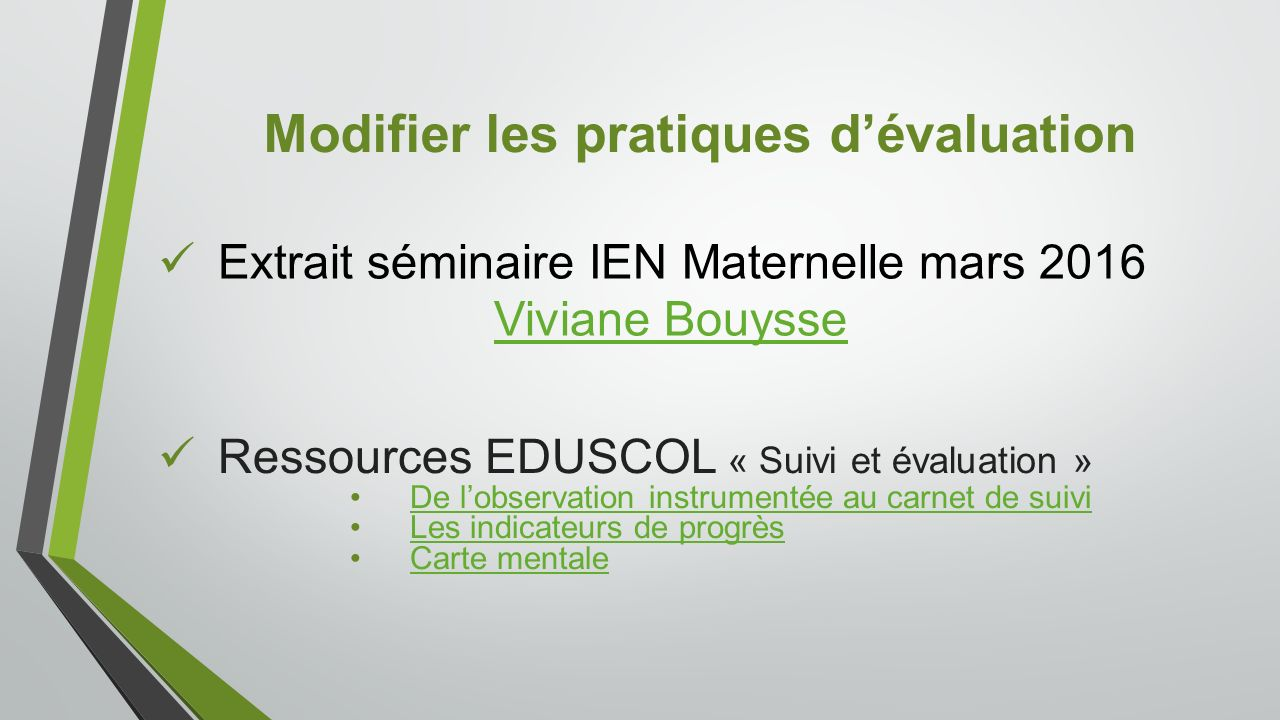 Extrait séminaire IEN Maternelle mars 2016 Viviane Bouysse