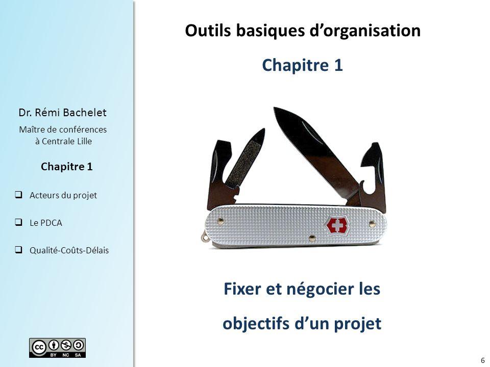 Outils basiques d'organisation