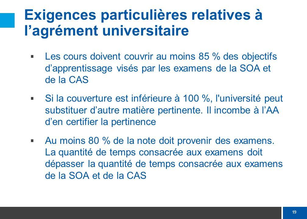 Prochaines étapes Expression d'intention des universités – 1er avril 2011. Demande d'agrément des universités – 30 juin 2011.
