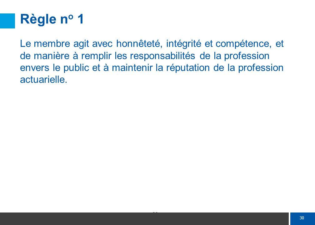 Annotation 1-1 Le membre rend ses services professionnels avec habilité et diligence.