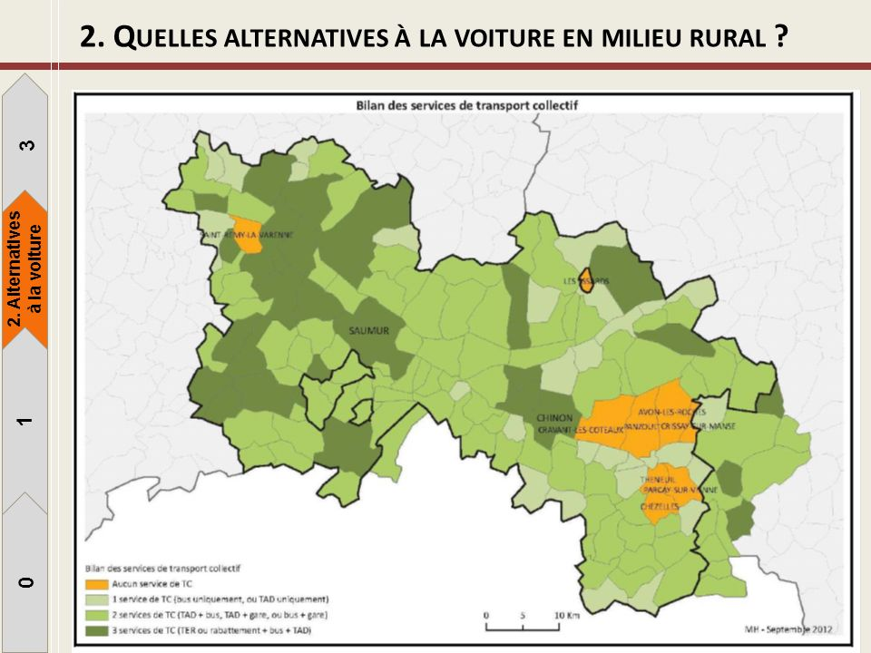 2. Quelles alternatives à la voiture en milieu rural
