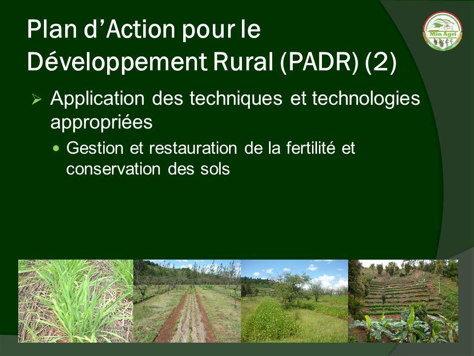 Plan d'Action pour le Développement Rural (PADR) (2)