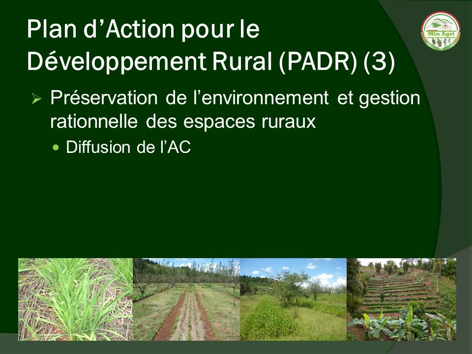 Plan d'Action pour le Développement Rural (PADR) (3)