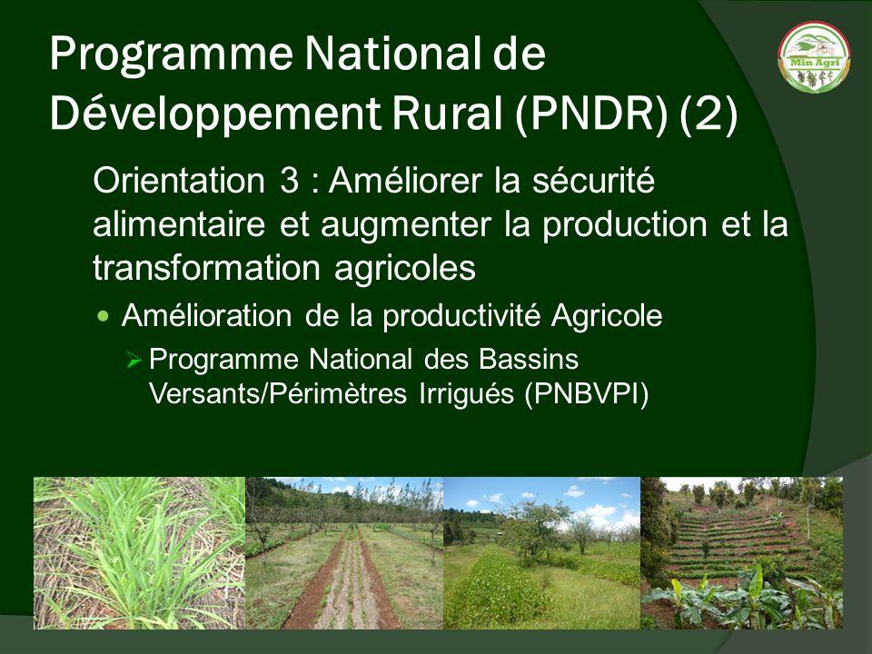Programme National de Développement Rural (PNDR) (2)