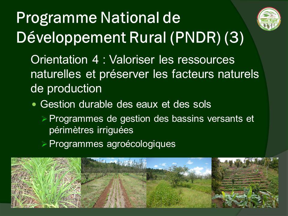 Programme National de Développement Rural (PNDR) (3)
