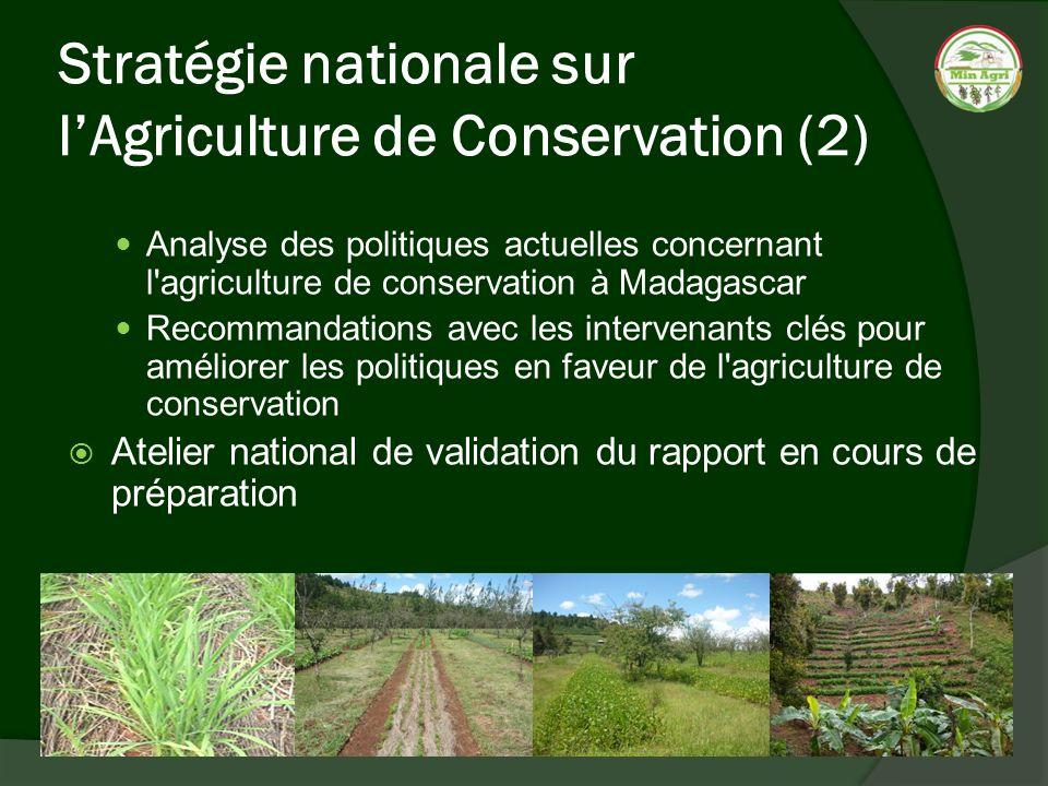 Stratégie nationale sur l'Agriculture de Conservation (2)