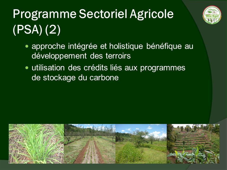 Programme Sectoriel Agricole (PSA) (2)