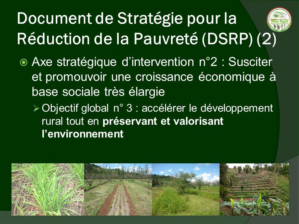 Document de Stratégie pour la Réduction de la Pauvreté (DSRP) (2)