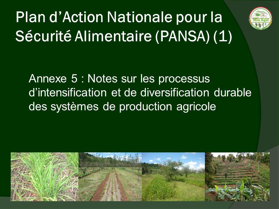 Plan d'Action Nationale pour la Sécurité Alimentaire (PANSA) (1)