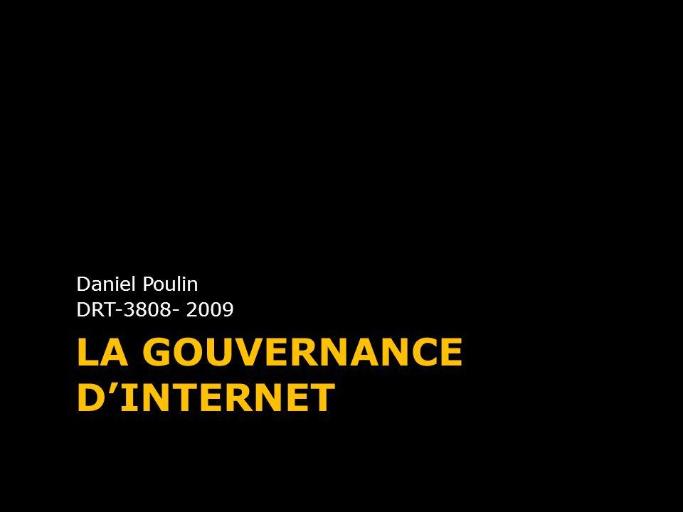 La gouvernance d'Internet